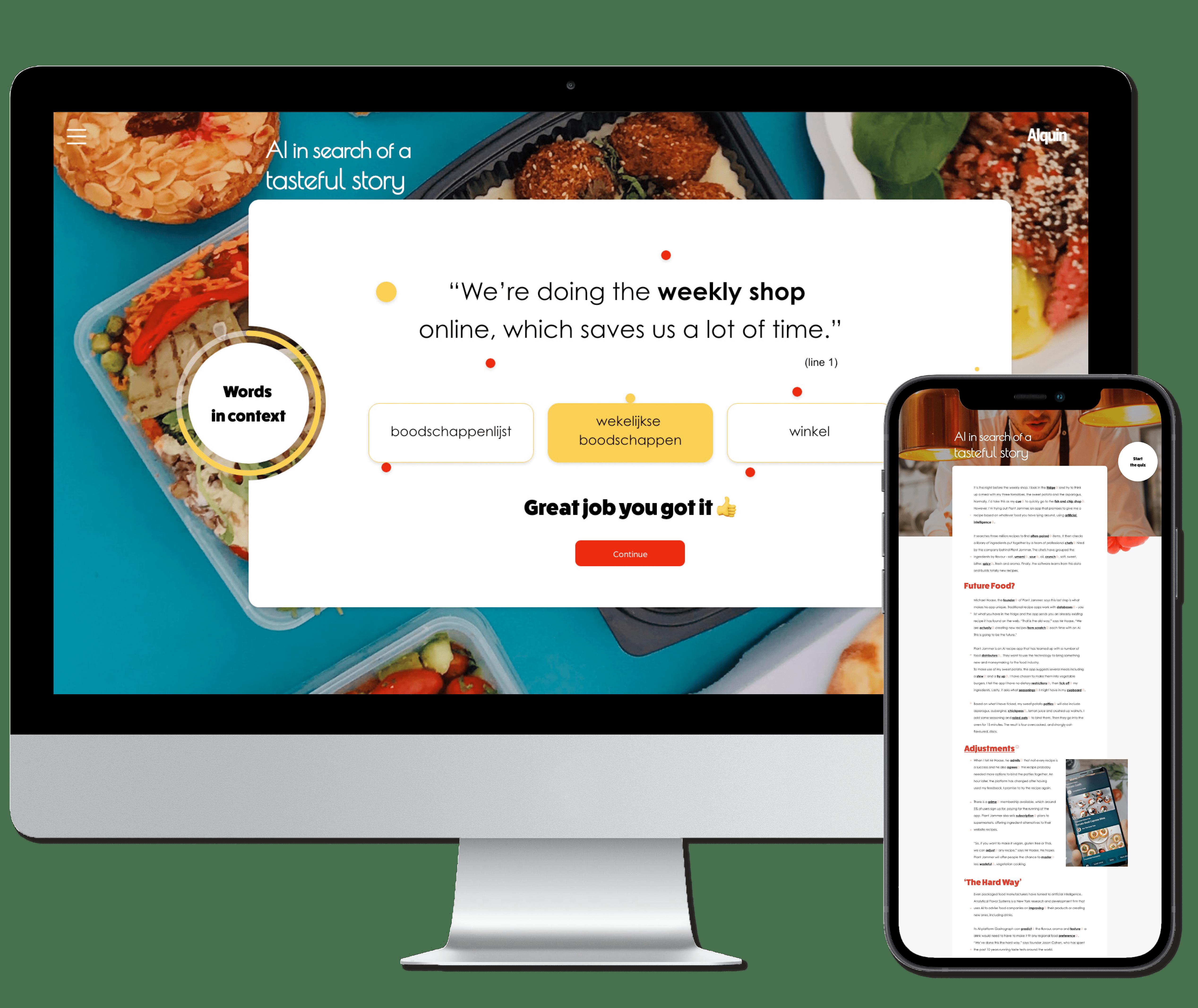 Alquin Magazine Digital Platform